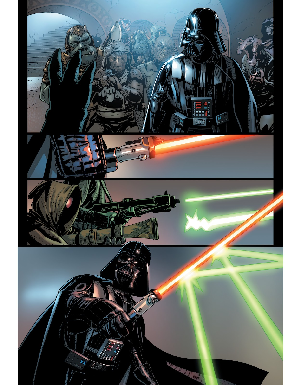 Read online The Marvel Art of Star Wars comic -  Issue # TPB (Part 1) - 55