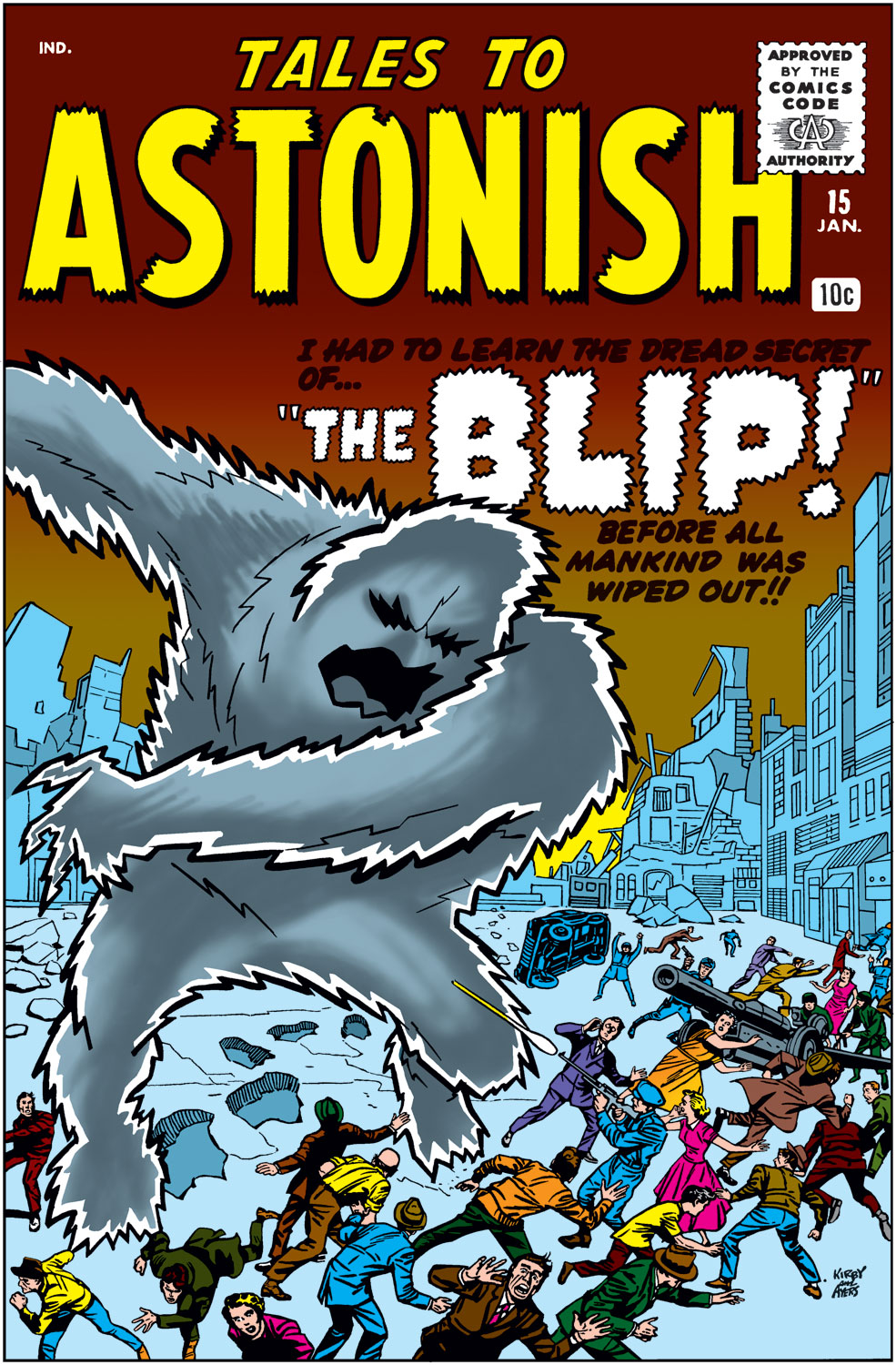 Tales to Astonish (1959) issue 15 - Page 1