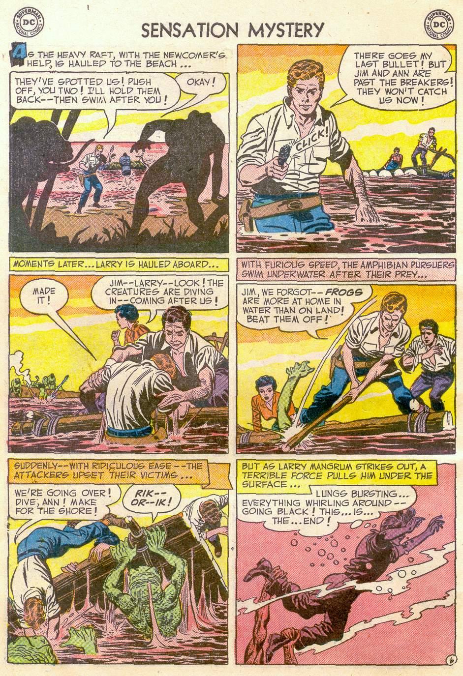 Read online Sensation (Mystery) Comics comic -  Issue #110 - 8