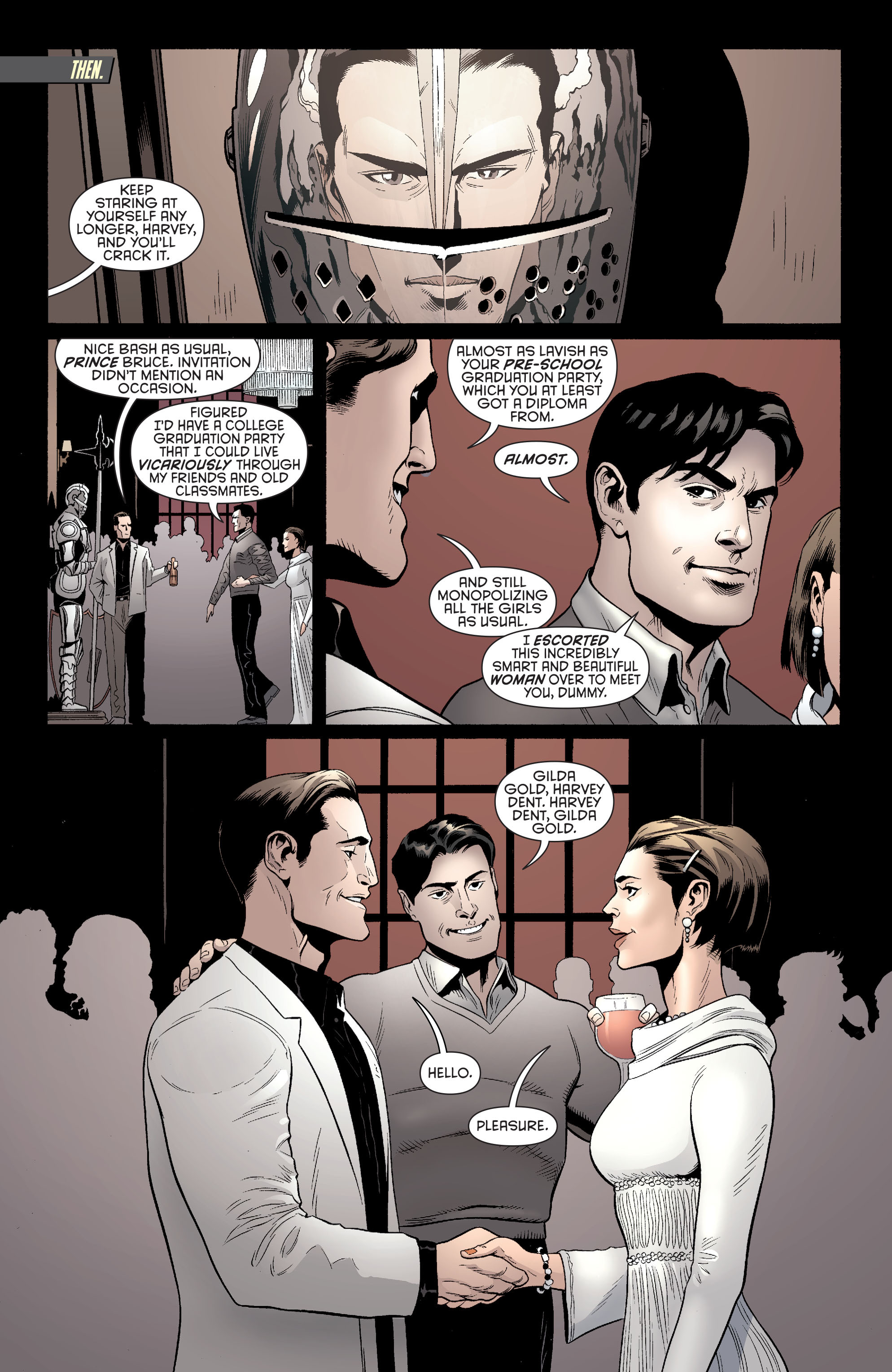 Read online Batman and Robin (2011) comic -  Issue #28 - Batman and Two-Face - 11