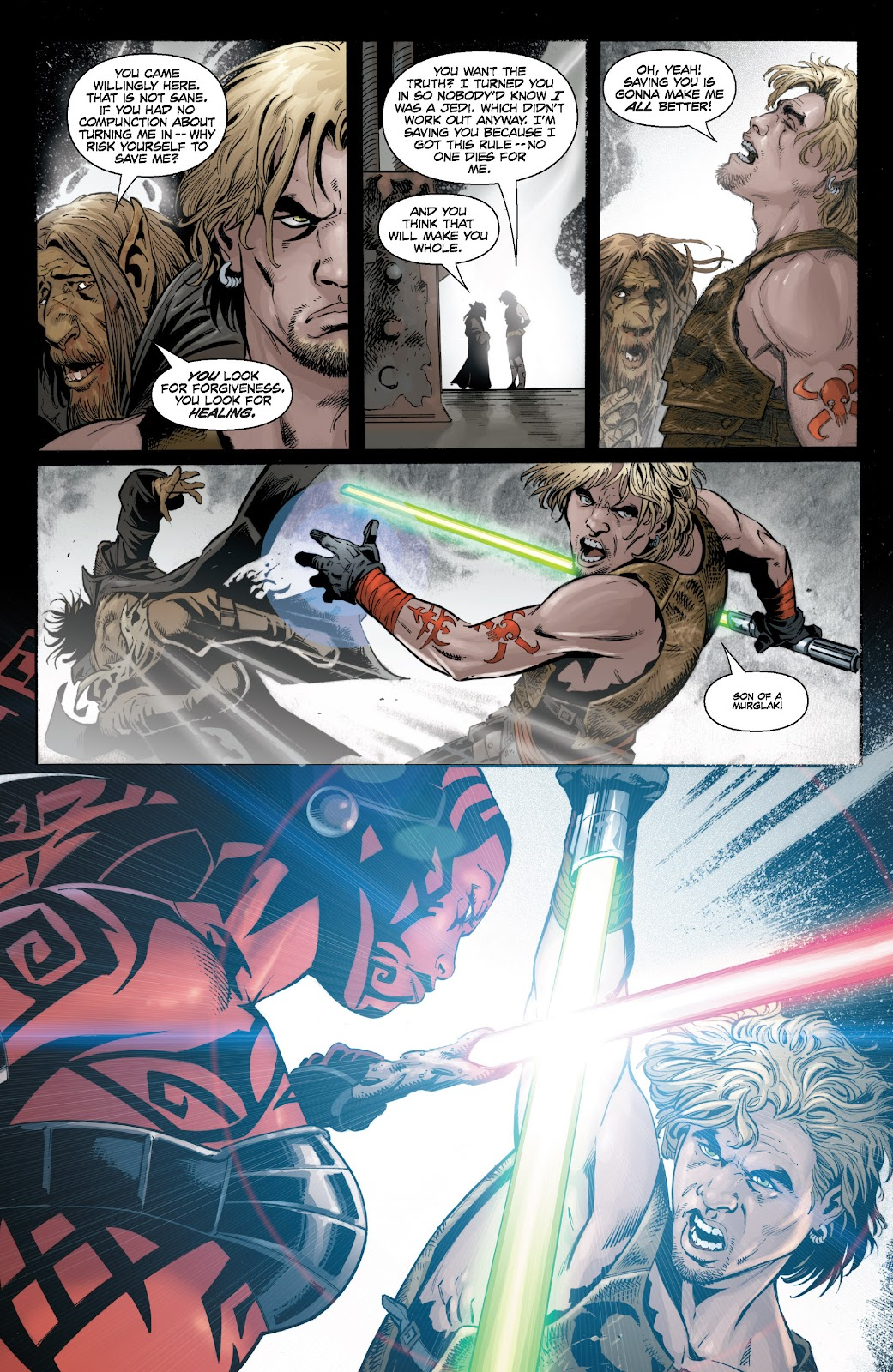 Read online Star Wars Legends: Legacy - Epic Collection comic -  Issue # TPB 1 (Part 4) - 37
