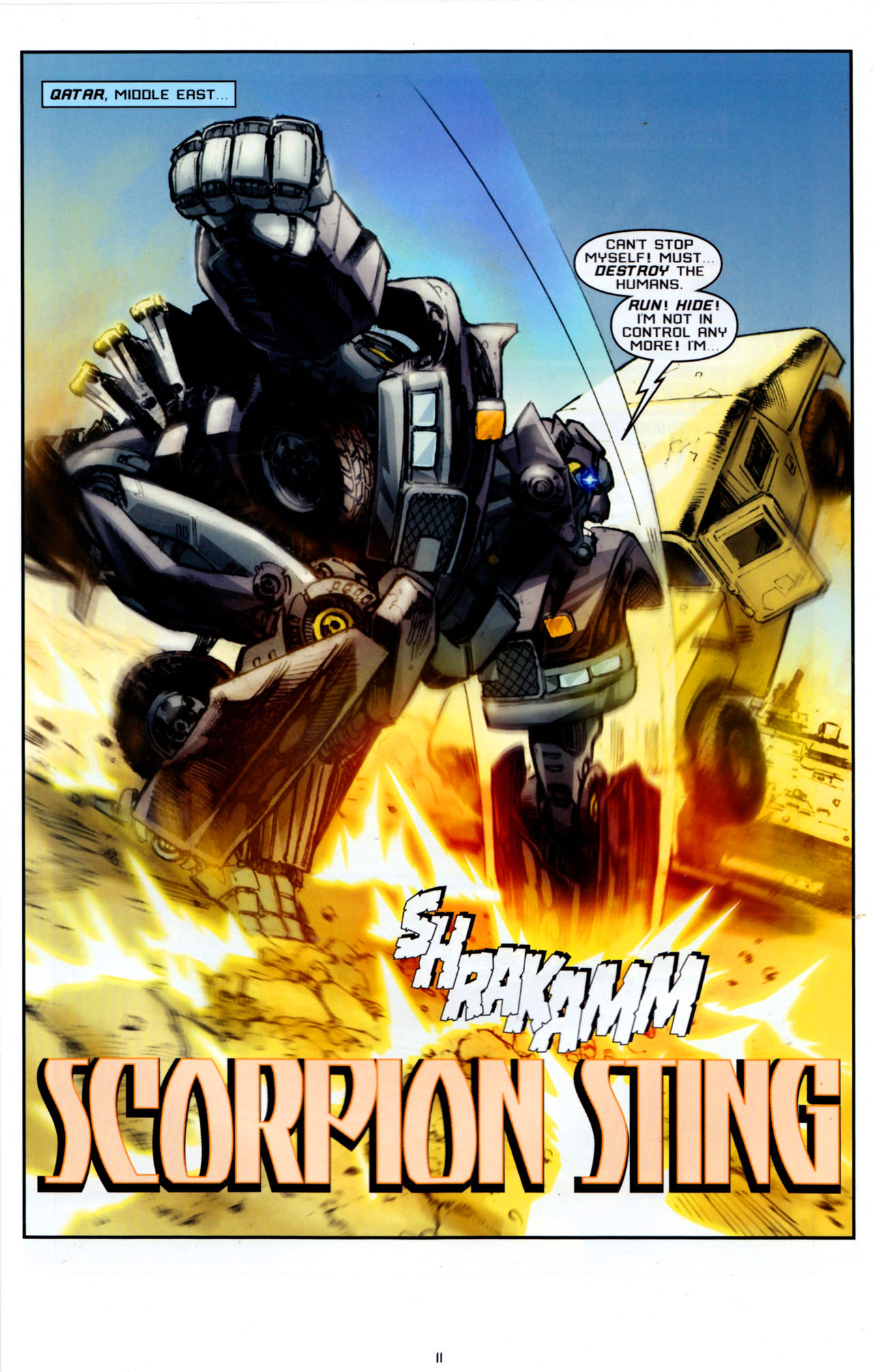 Read online Transformers: Saga of the Allspark comic -  Issue #4 - 14
