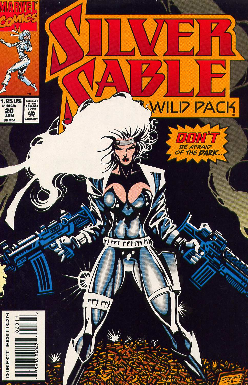 Read online Silver Sable and the Wild Pack comic -  Issue #20 - 1