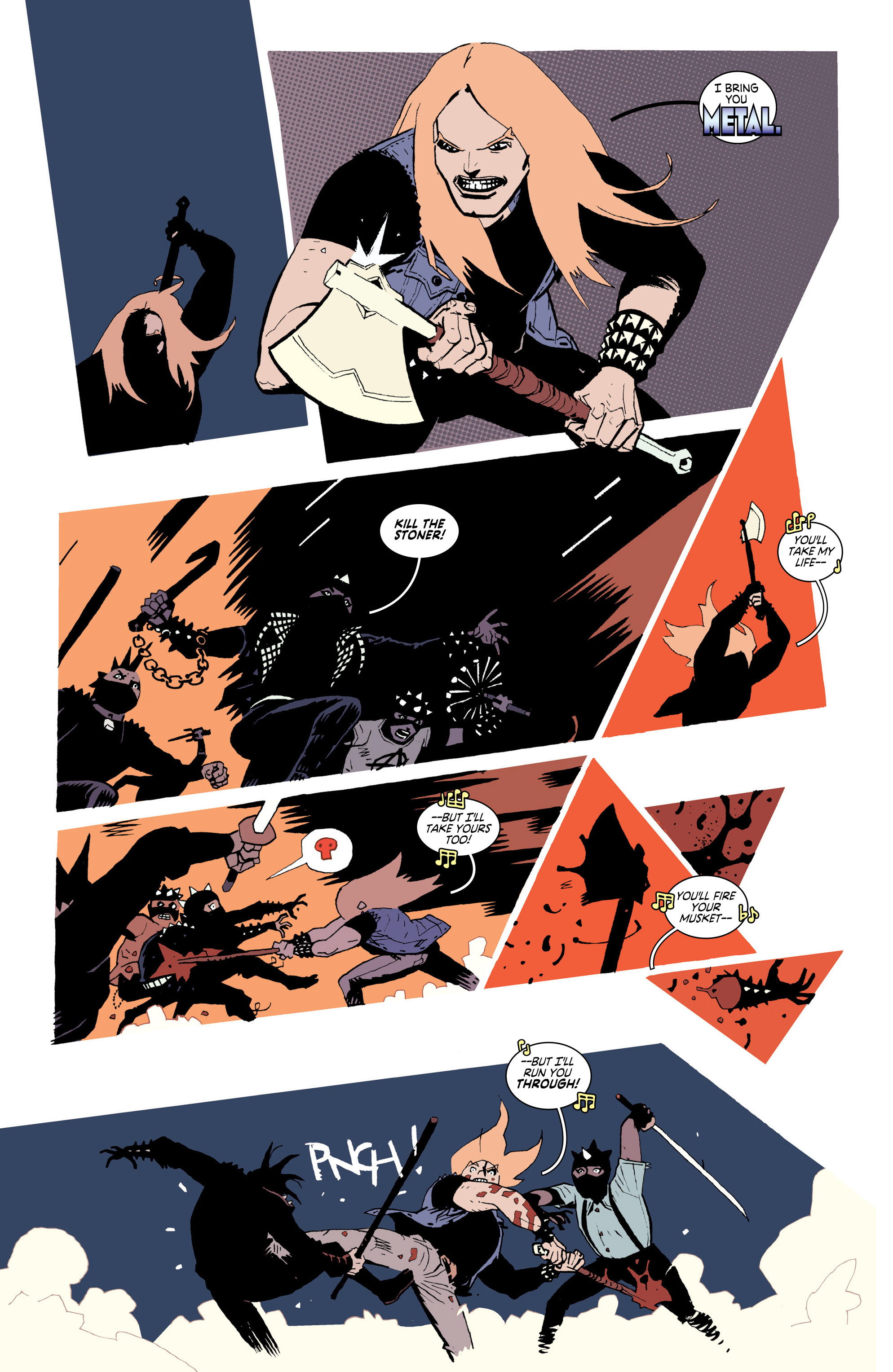 Read online Deadly Class comic -  Issue #25 - 4