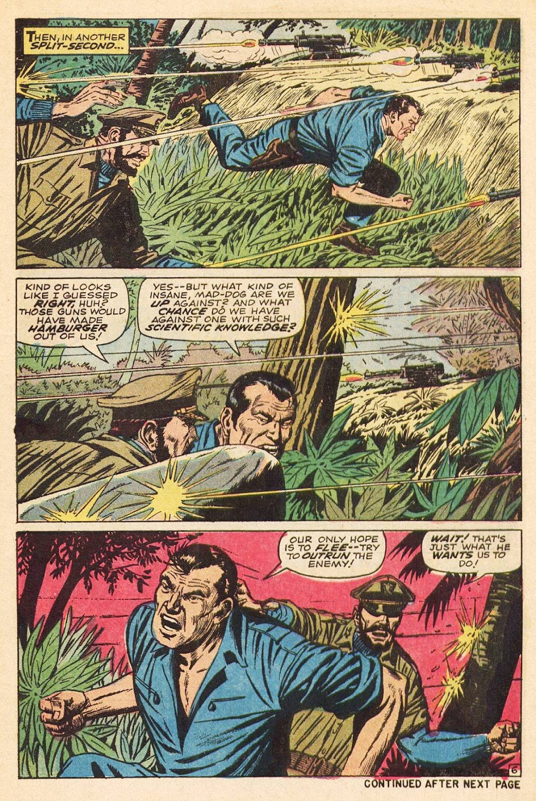 Captain Savage and his Leatherneck Raiders issue 3 - Page 9