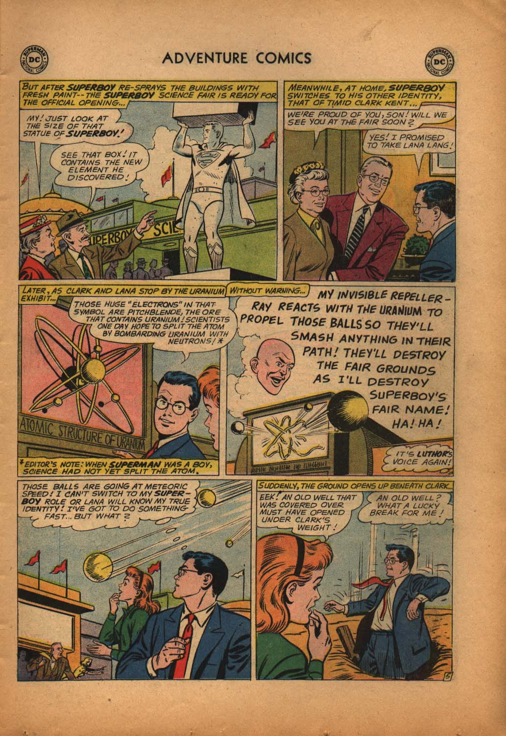Read online Adventure Comics (1938) comic -  Issue #292 - 7