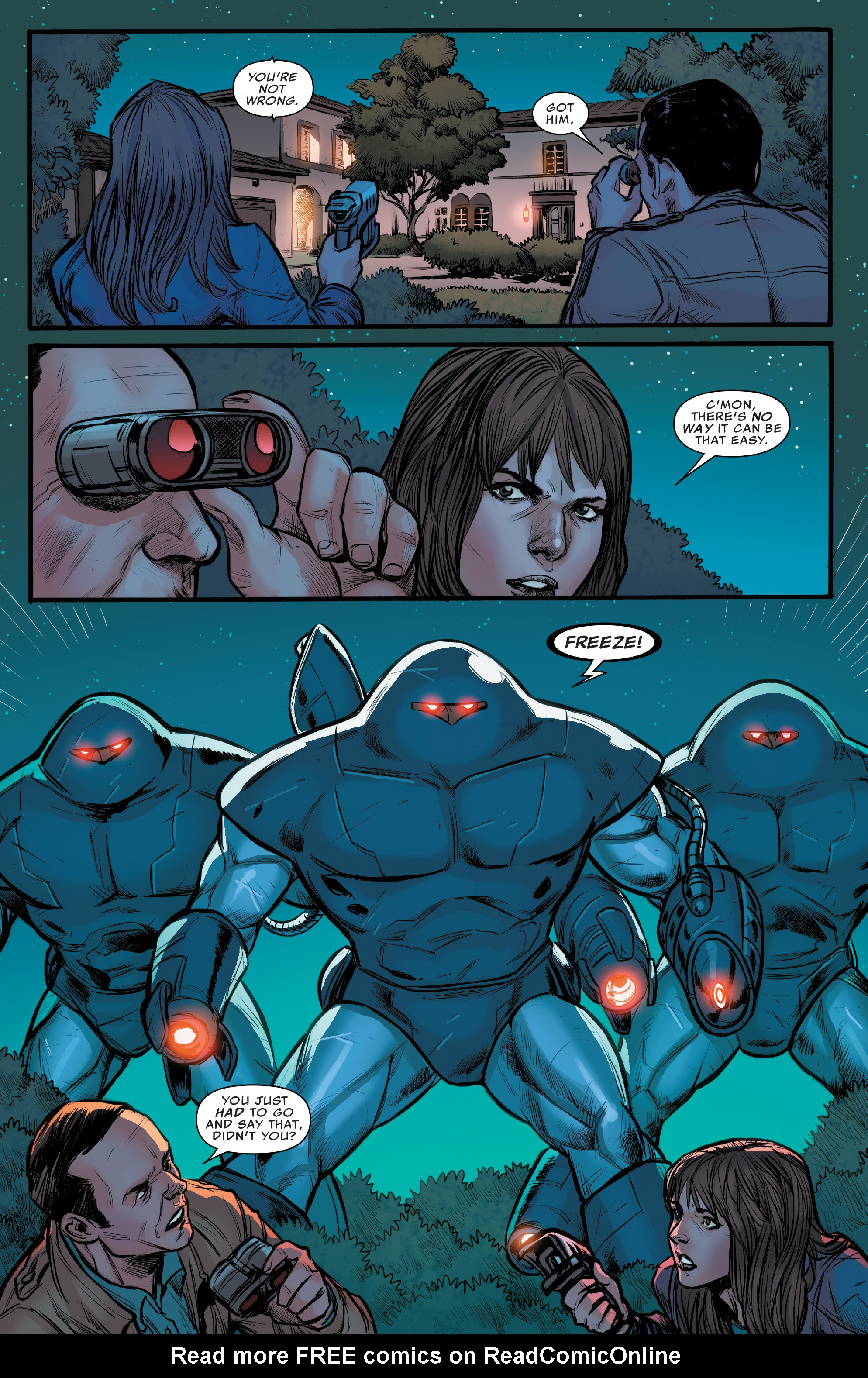 Read online Agents of S.H.I.E.L.D. comic -  Issue #10 - 9