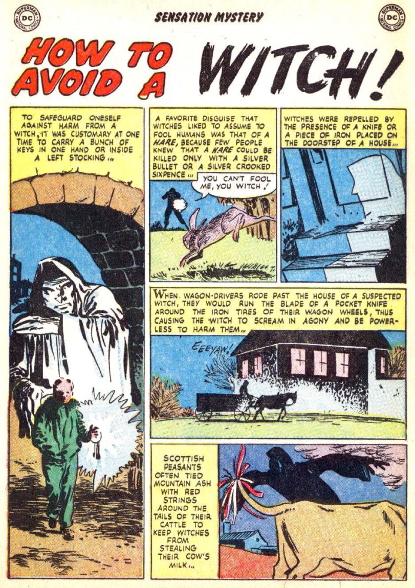 Read online Sensation (Mystery) Comics comic -  Issue #115 - 12