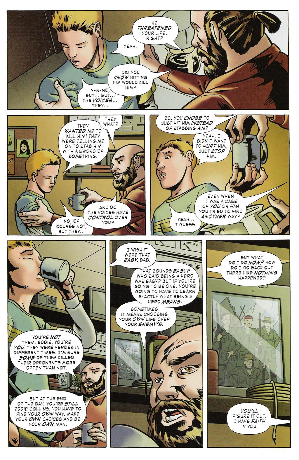Read online ShadowHawk (2005) comic -  Issue #2 - 9