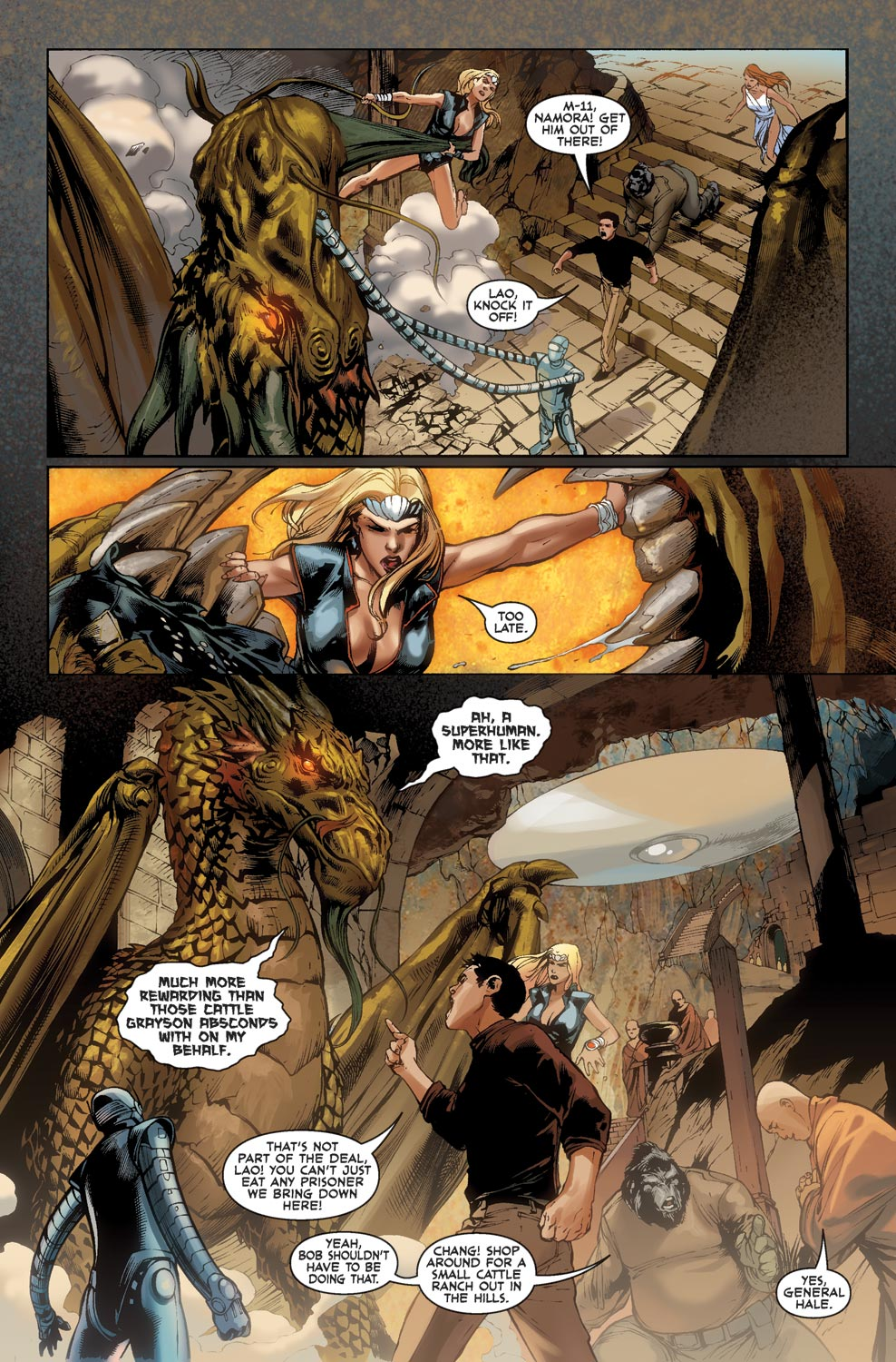 Read online Agents Of Atlas (2009) comic -  Issue #1 - 21