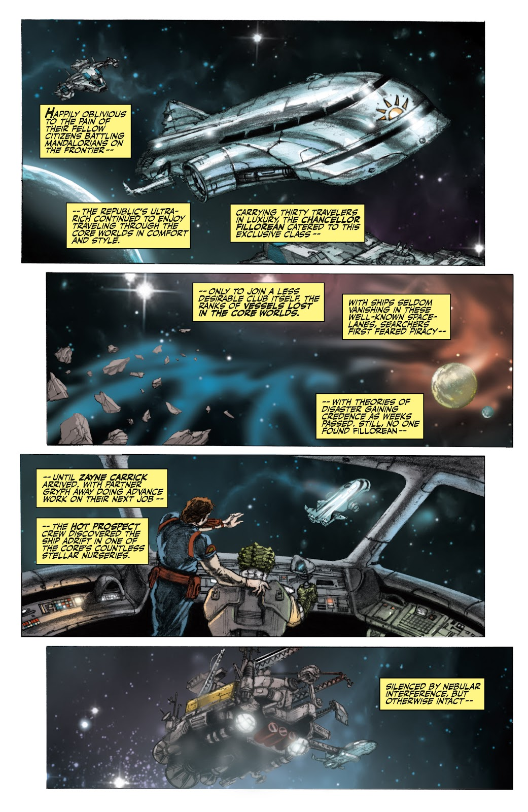 Read online Star Wars Legends: The Old Republic - Epic Collection comic -  Issue # TPB 3 (Part 1) - 9