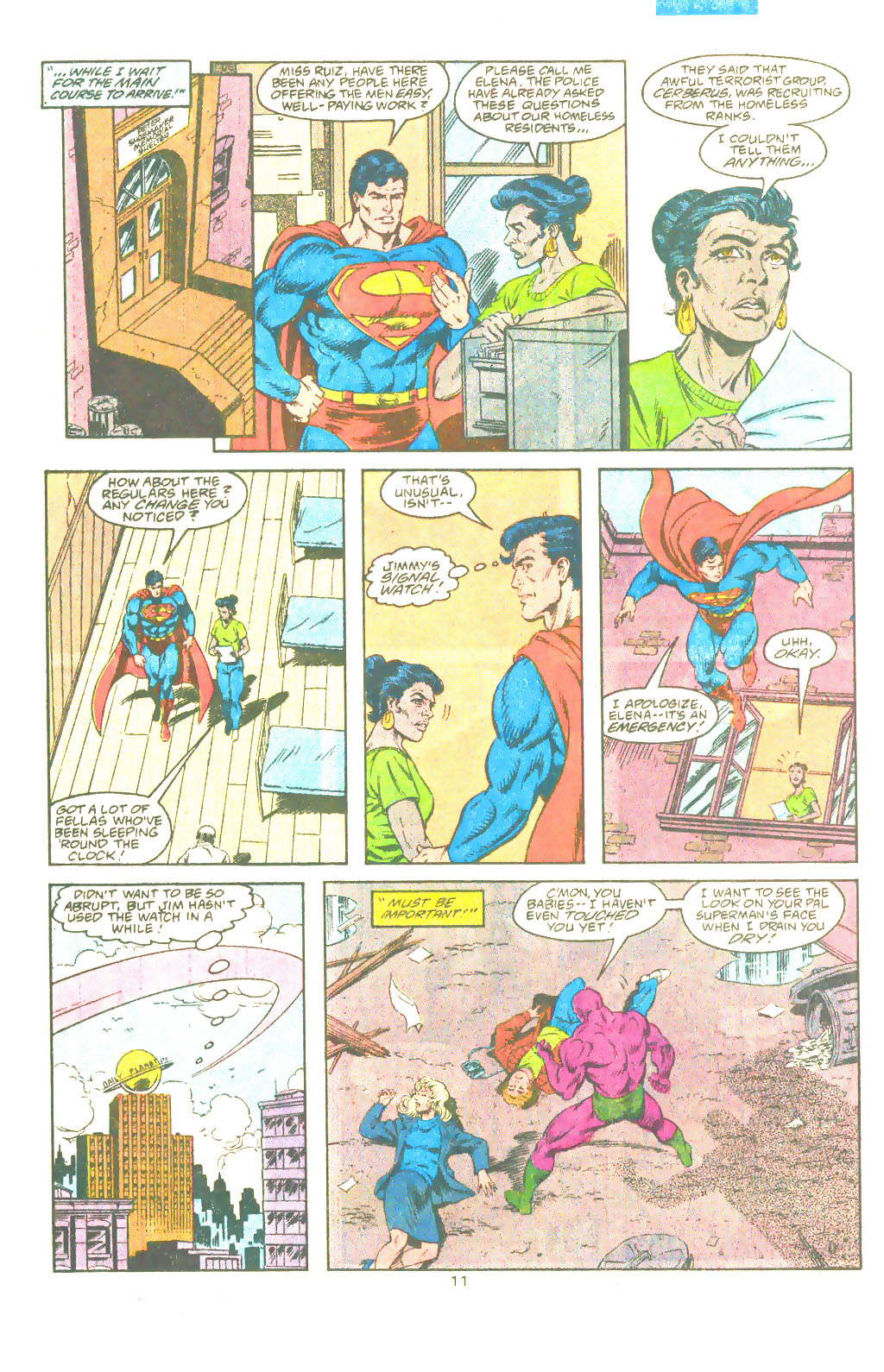 Read online Adventures of Superman (1987) comic -  Issue #482 - 12