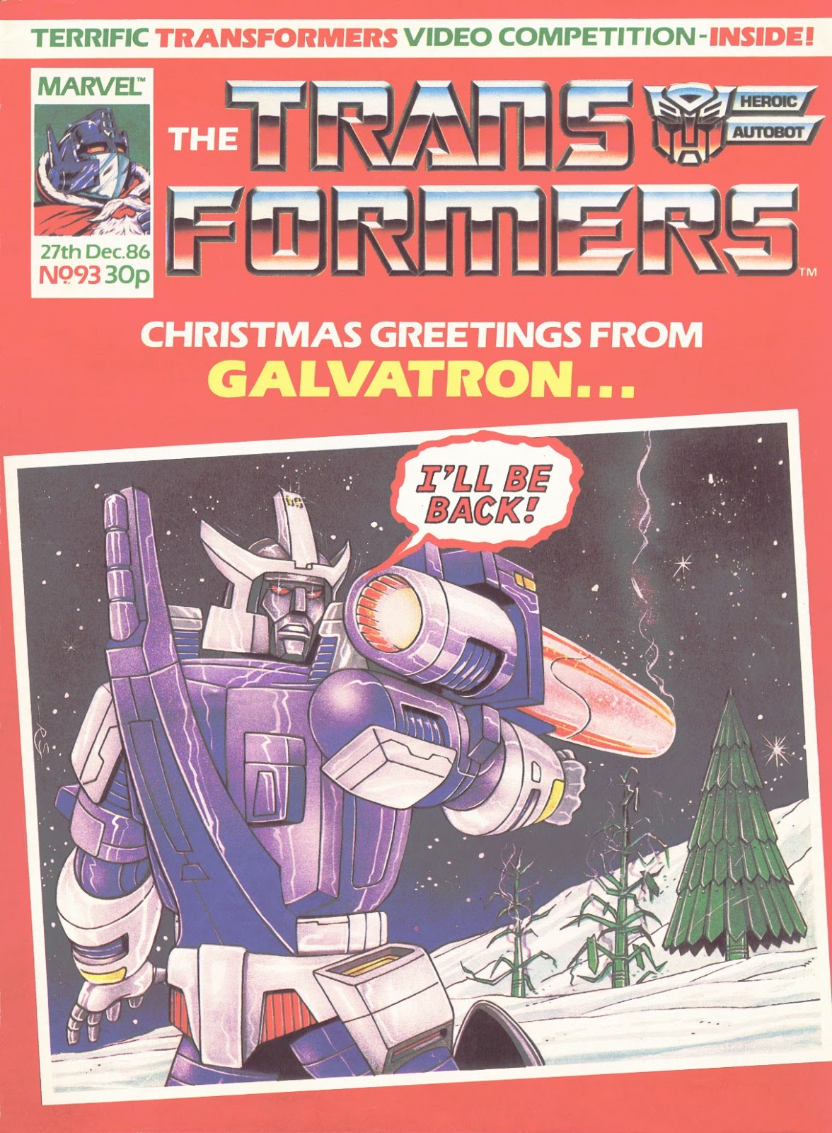 The Transformers (UK) 93 Page 1