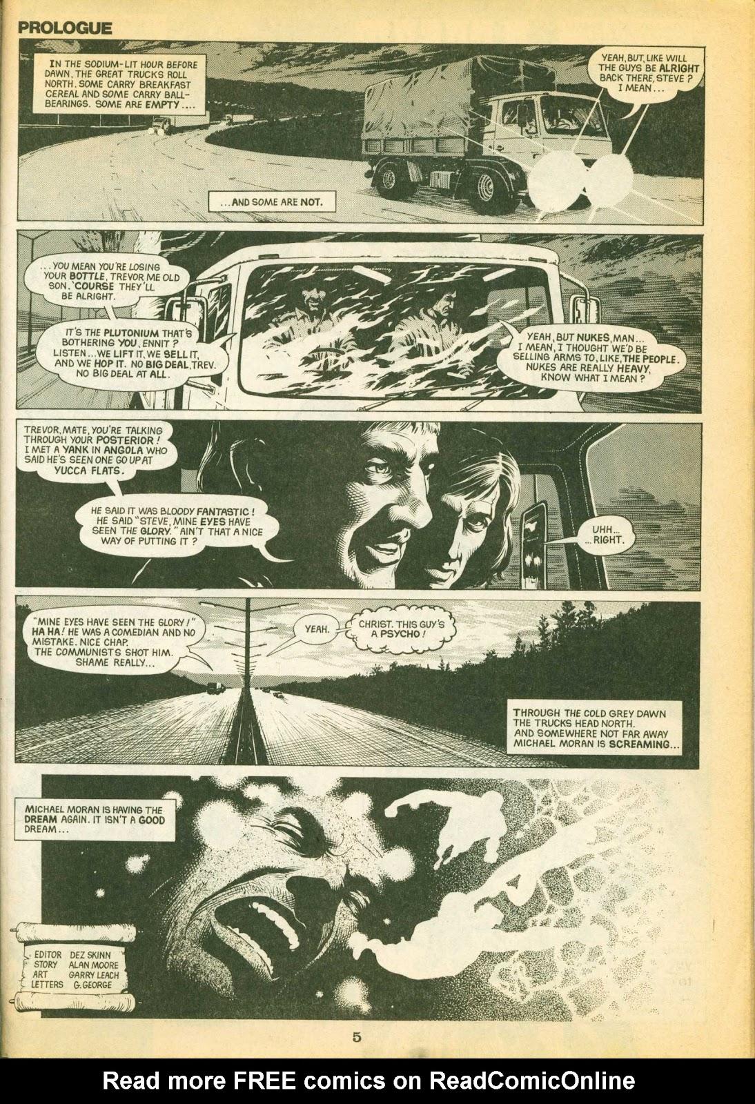 Warrior Issue #1 #2 - English 5