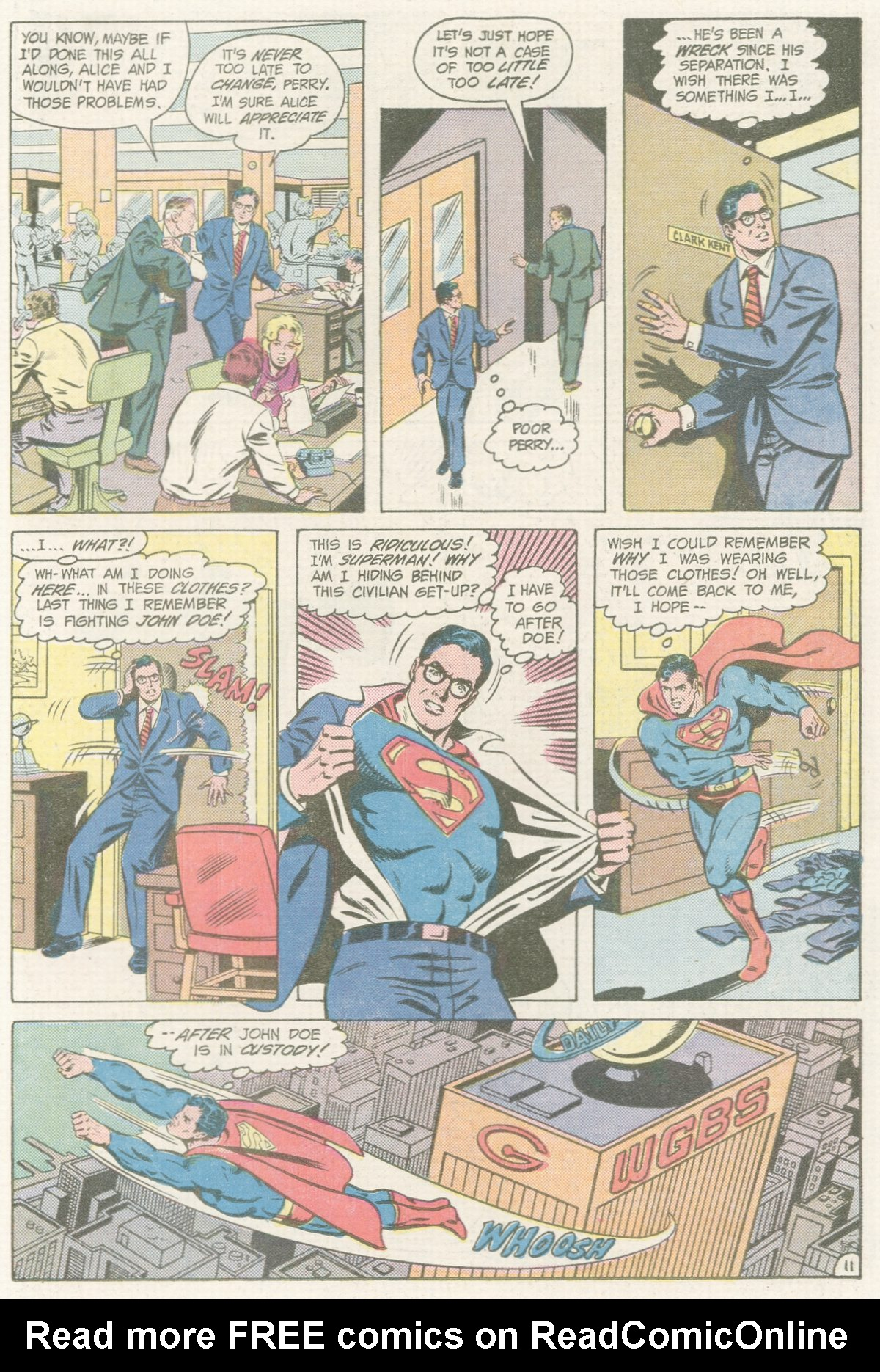 Read online Action Comics (1938) comic -  Issue #560 - 12