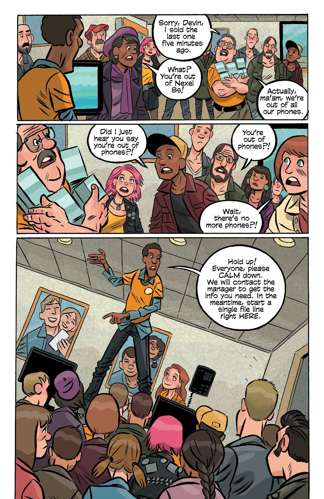 Read online Cellies comic -  Issue #6 - 15