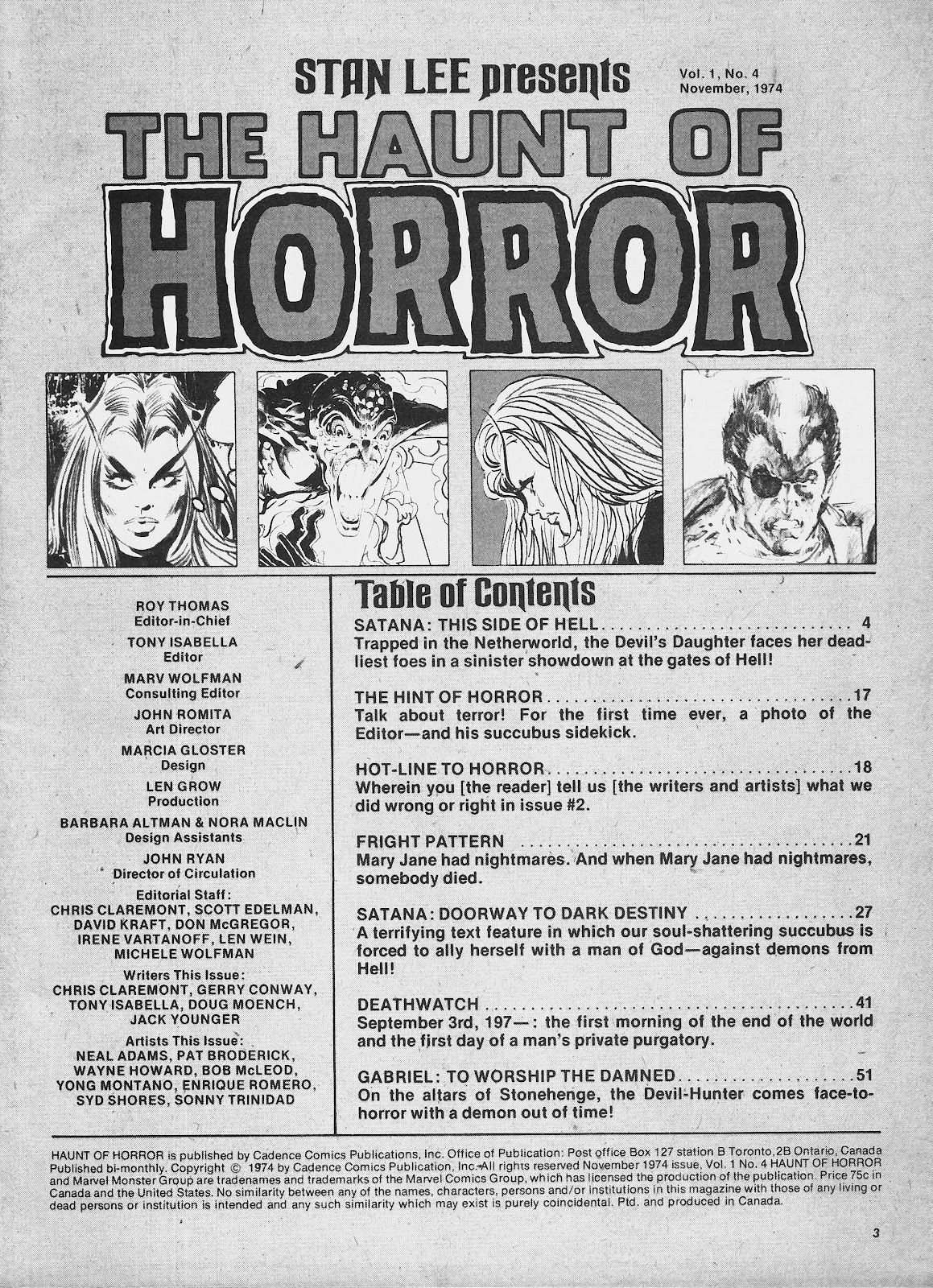 Haunt of Horror issue 4 - Page 3
