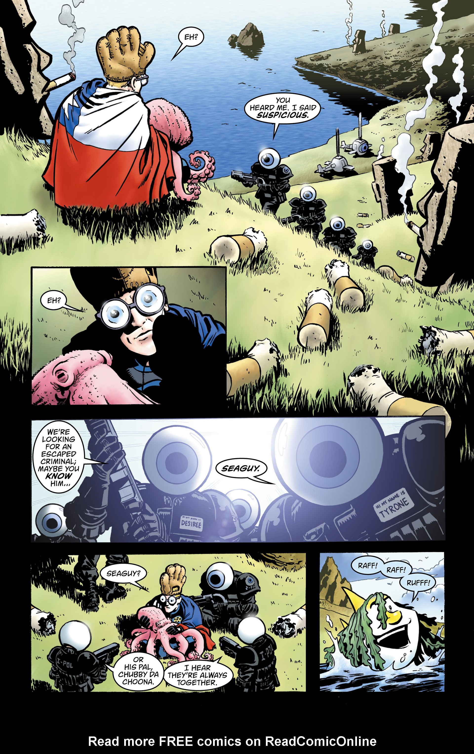 Read online Seaguy comic -  Issue #2 - 3
