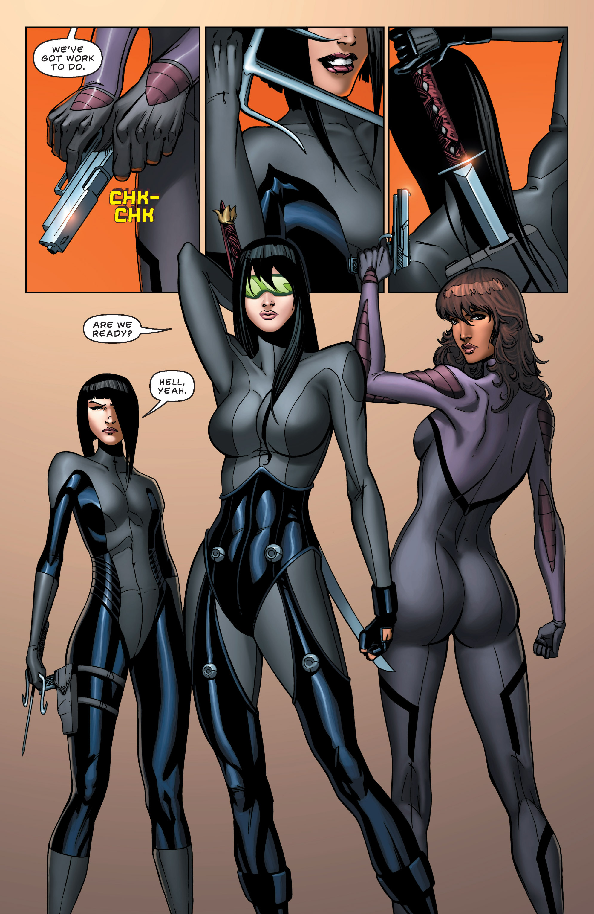 Read online All New Executive Assistant: Iris comic -  Issue #5 - 7