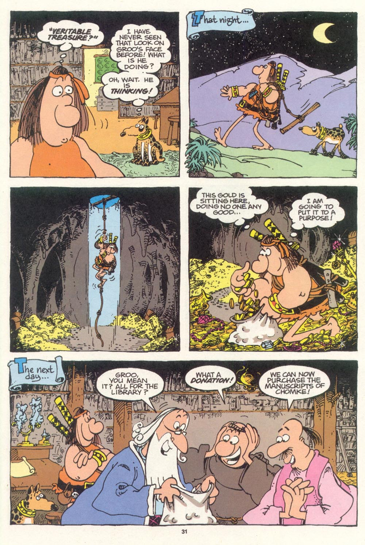 Read online Sergio Aragonés Groo the Wanderer comic -  Issue #100 - 32