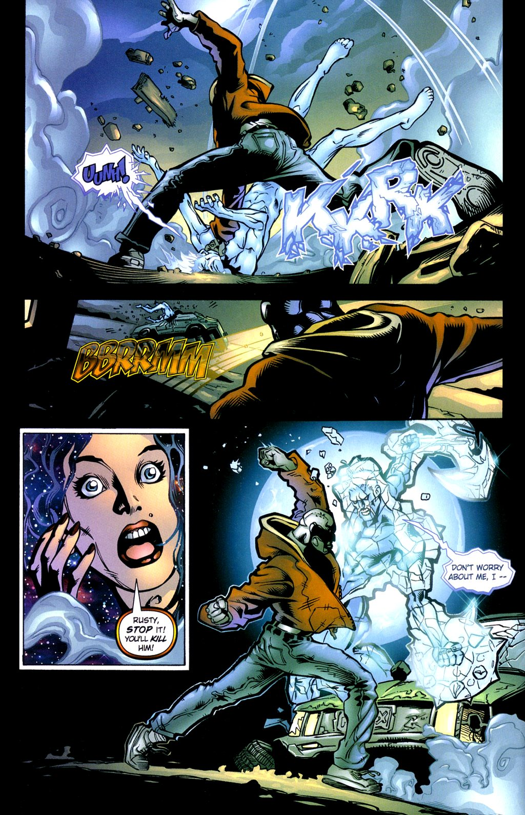 Read online Noble Causes (2002) comic -  Issue #3 - 8