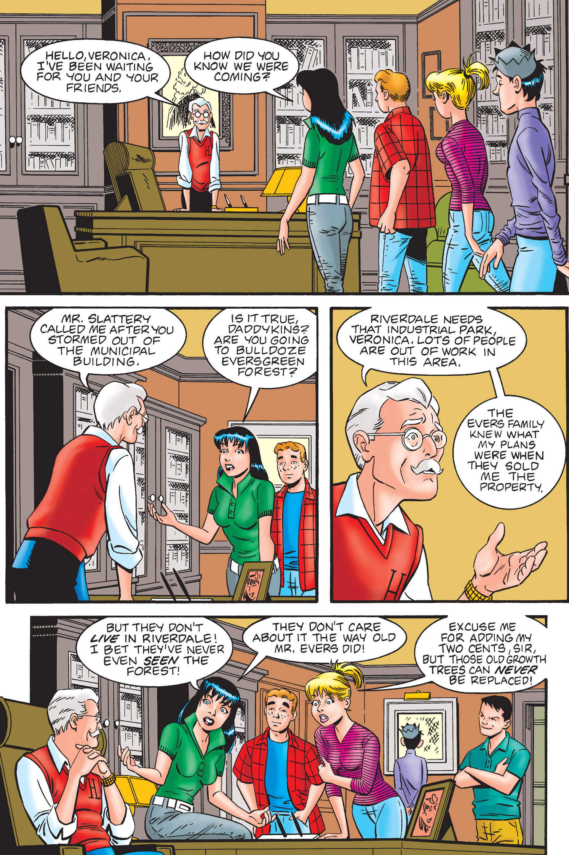 Read online Archie's New Look Series comic -  Issue #4 - 27