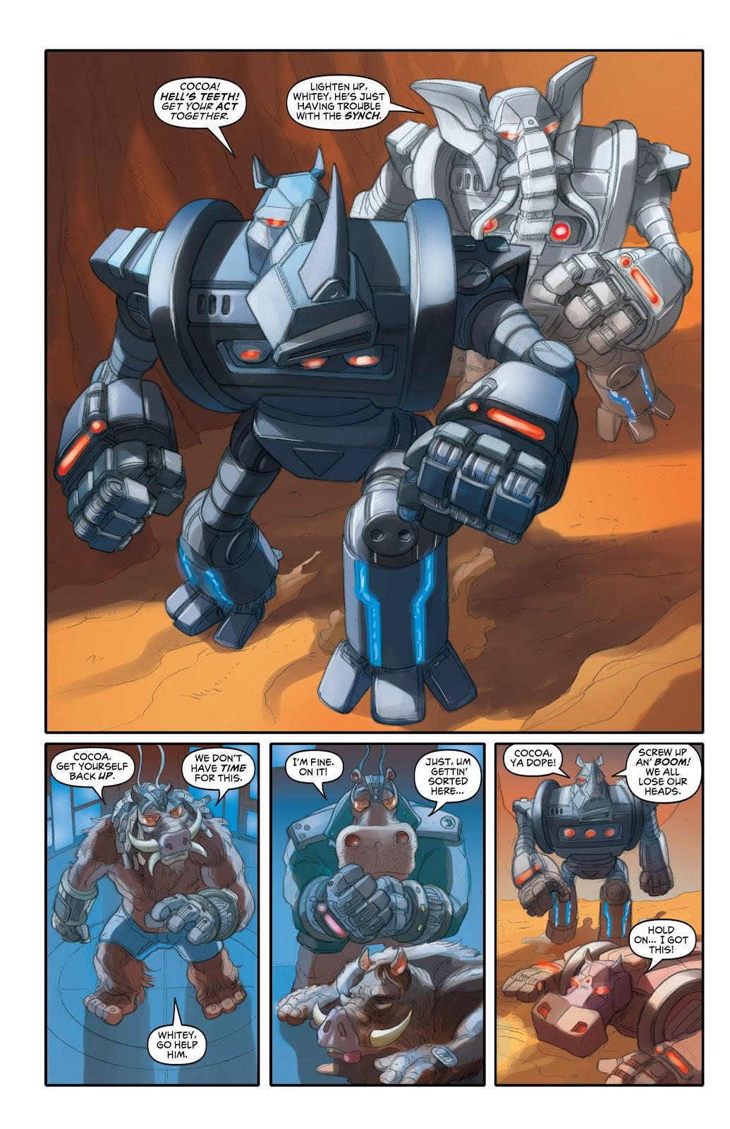 Read online Elephantmen 2261 Season Two: The Pentalion Job comic -  Issue # TPB - 55
