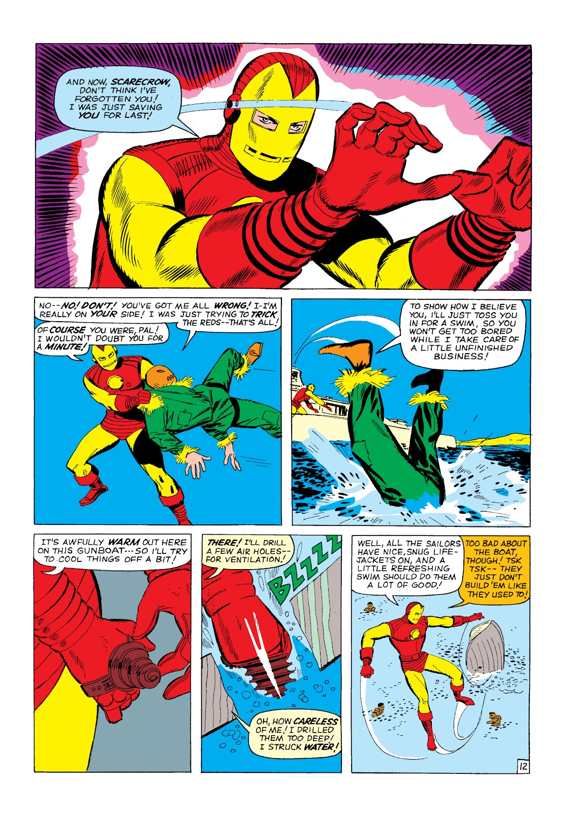 Read online Marvel Masterworks: The Invincible Iron Man comic -  Issue # TPB 2 (Part 1) - 15