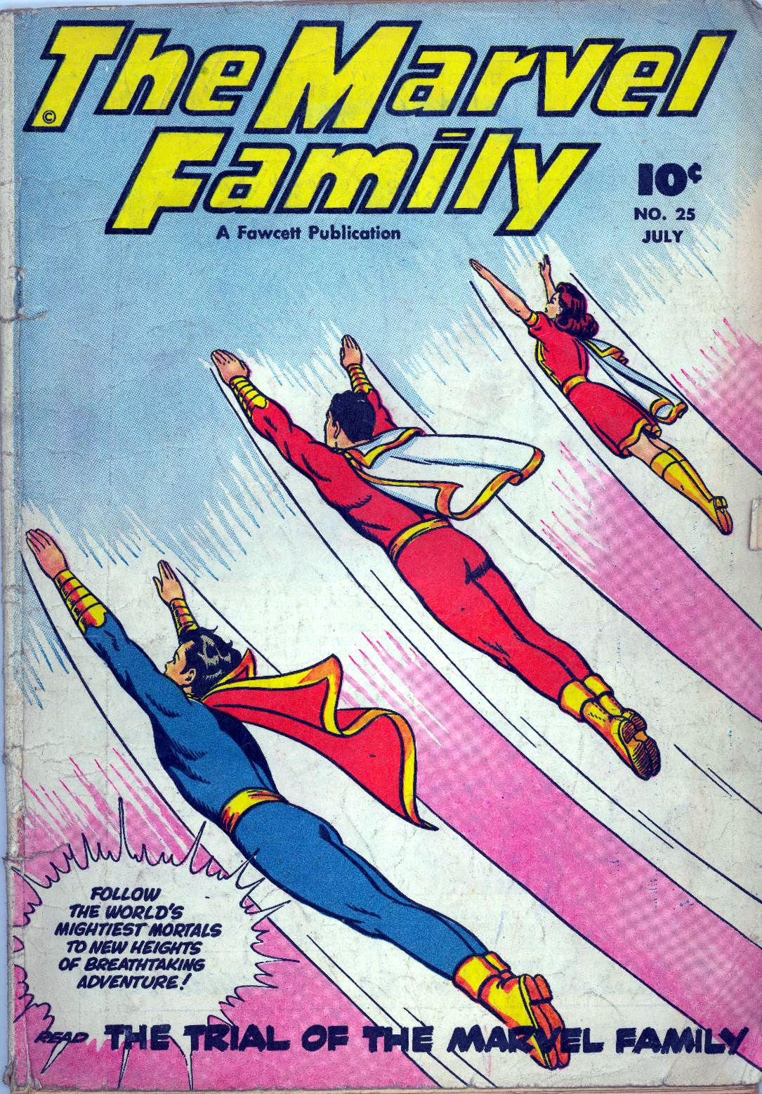 The Marvel Family 25 Page 1