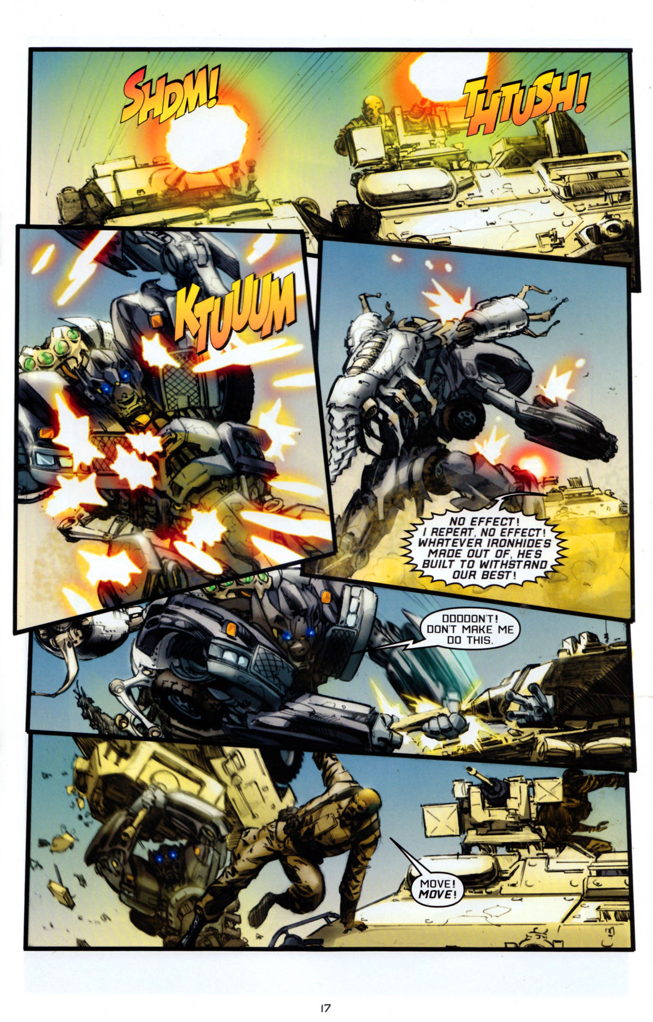Read online Transformers: Saga of the Allspark comic -  Issue #4 - 20
