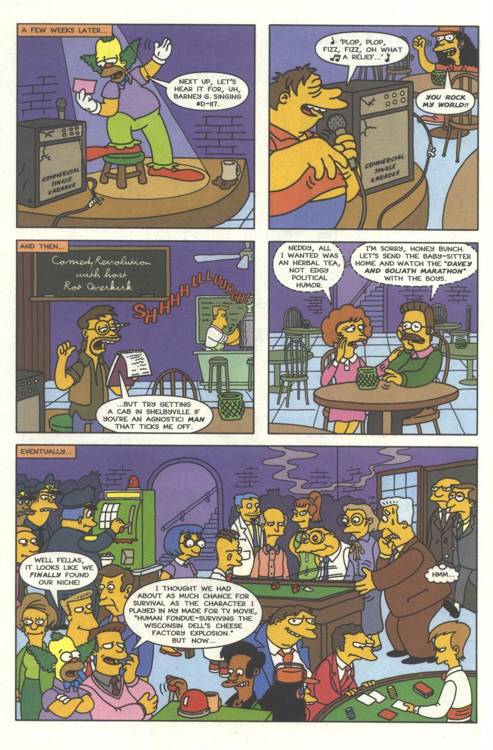 Read online Simpsons Comics comic -  Issue #32 - 5