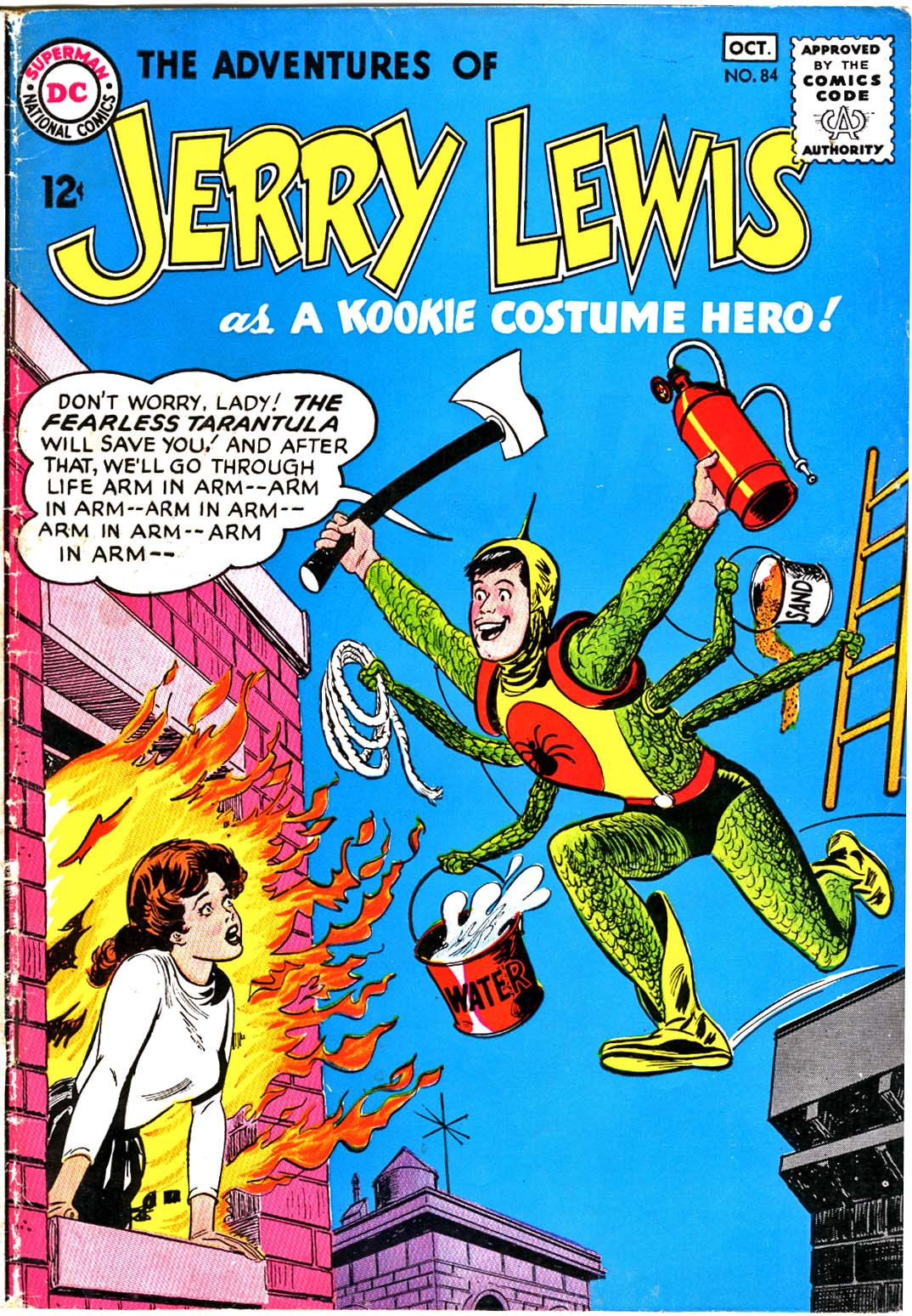 The Adventures of Jerry Lewis issue 84 - Page 1