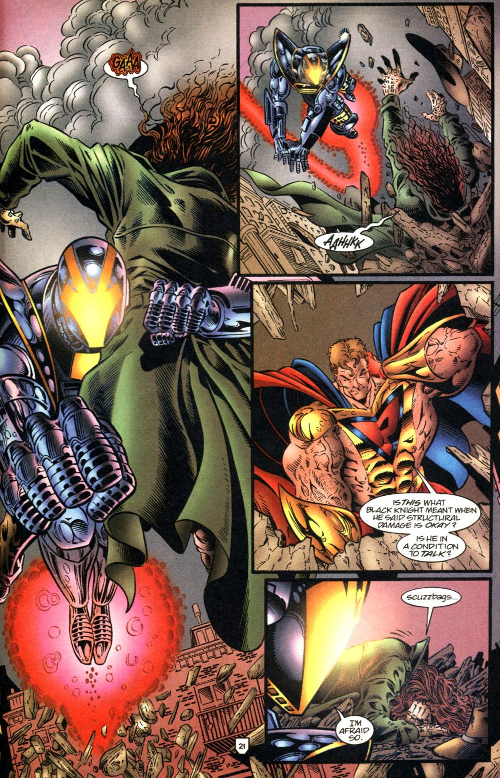 Read online UltraForce (1995) comic -  Issue #2 - 22