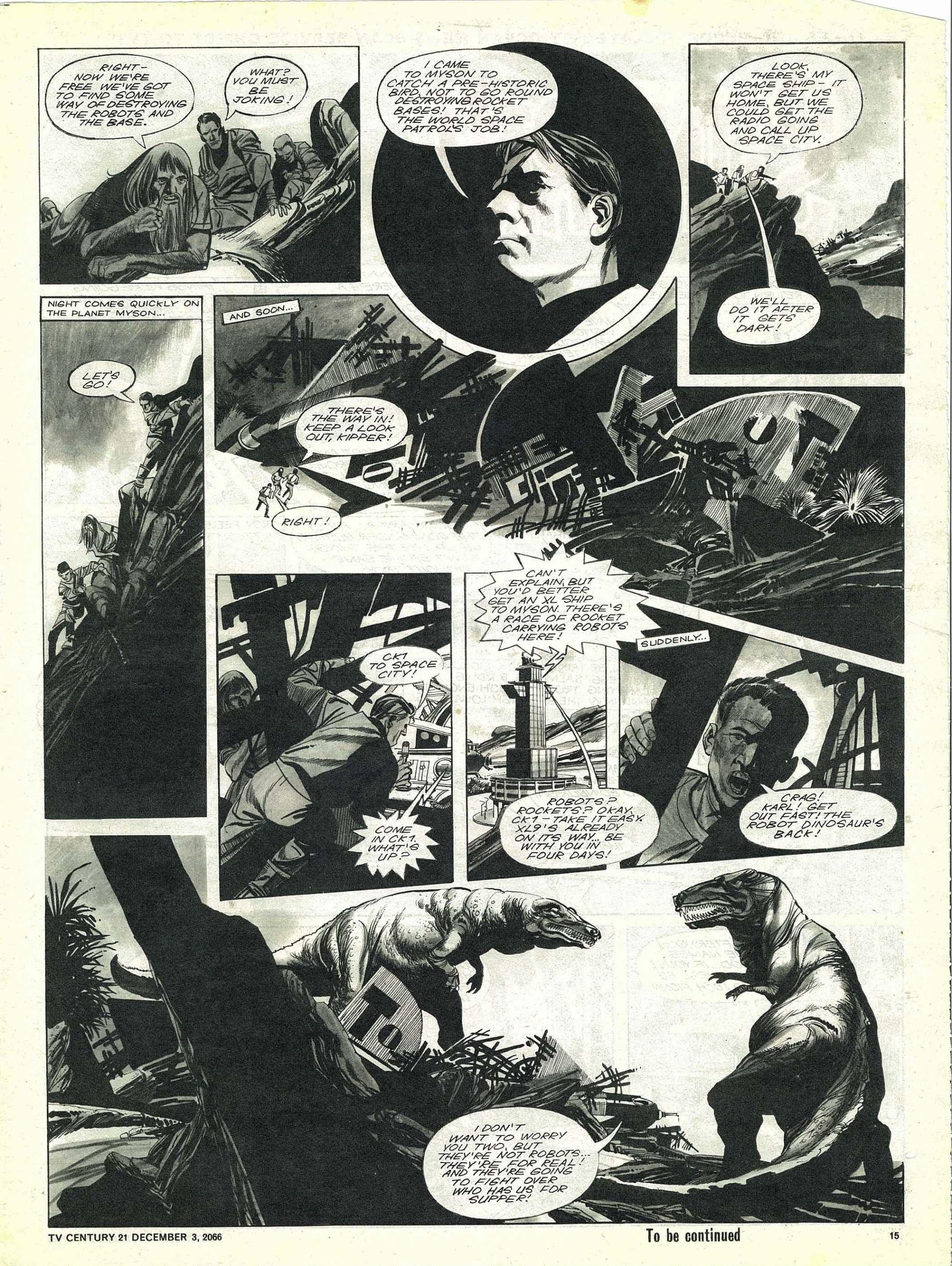Read online TV Century 21 (TV 21) comic -  Issue #98 - 14