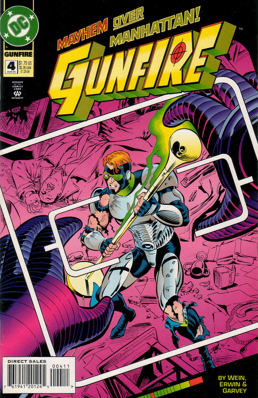 Read online Gunfire comic -  Issue #4 - 1
