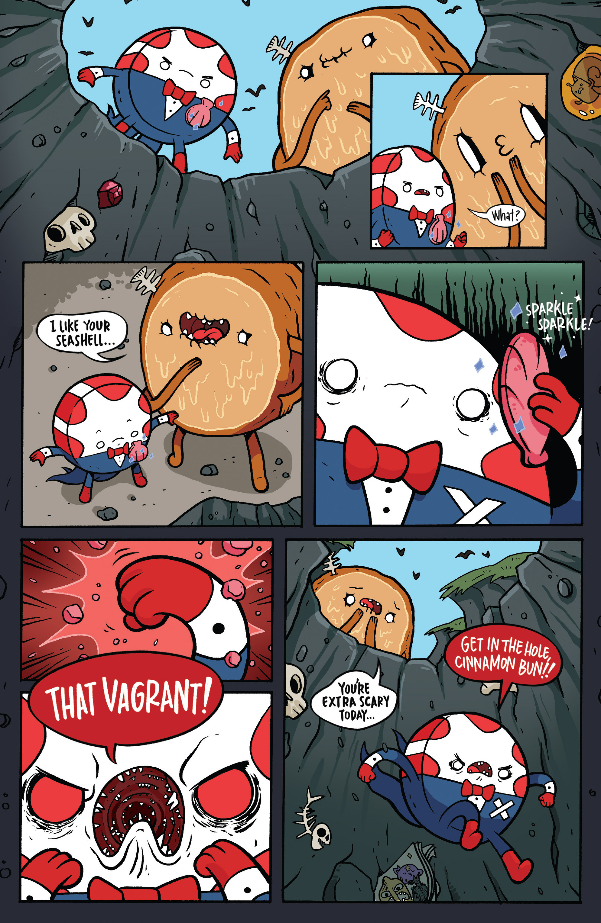 Read online Adventure Time: Candy Capers comic -  Issue #5 - 8