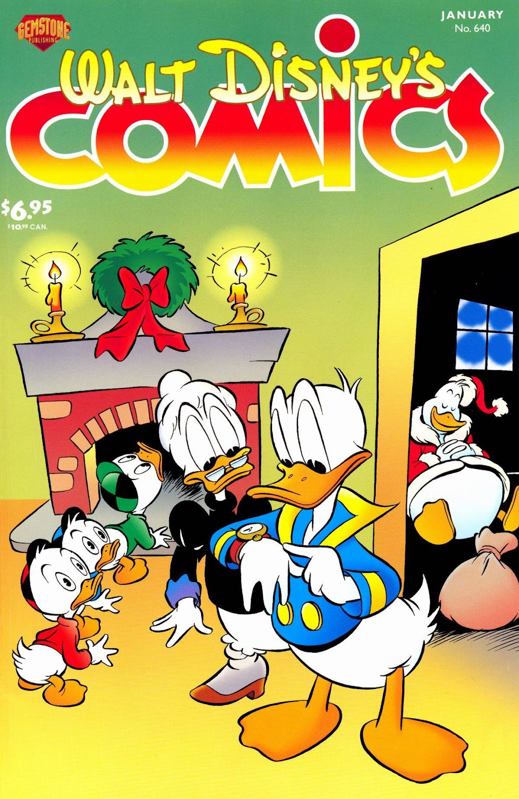 Walt Disney's Comics and Stories issue 640 - Page 1