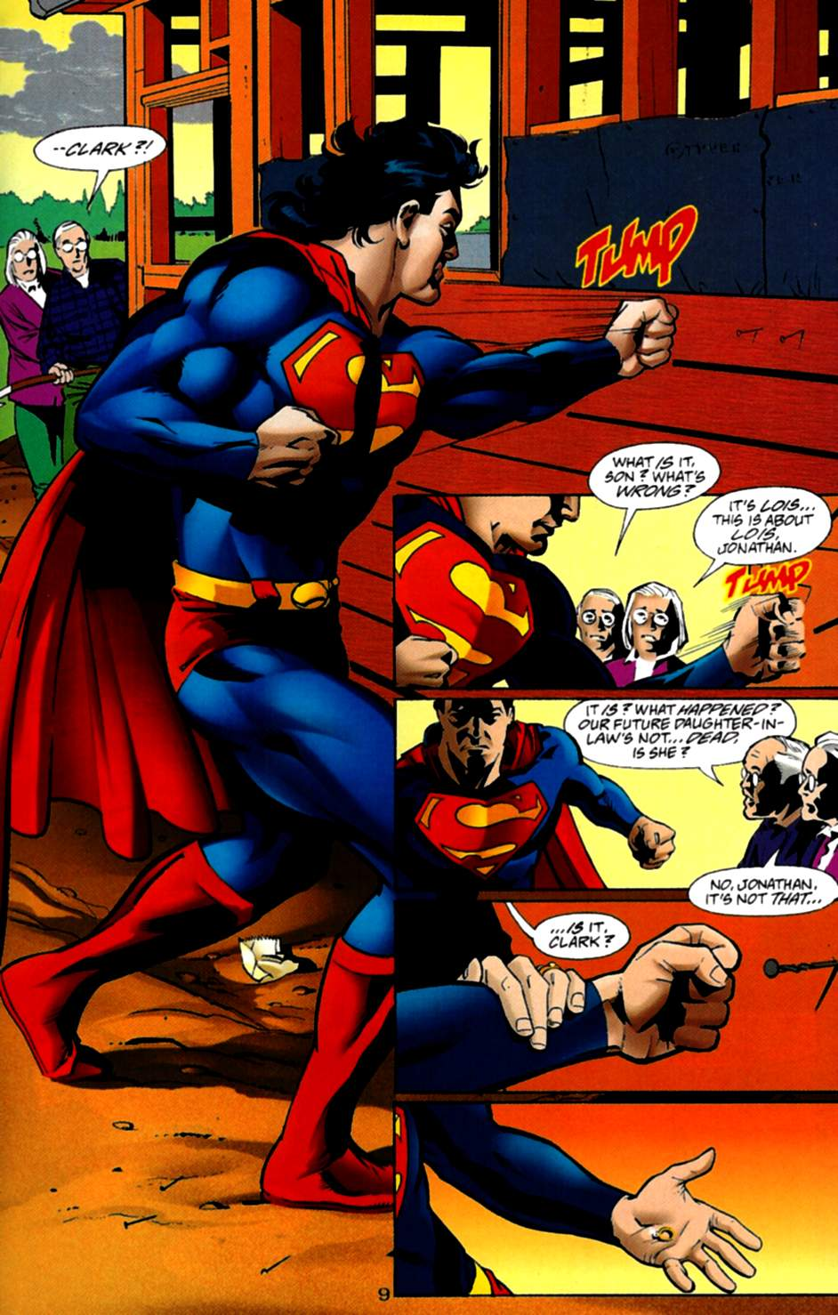 Read online Adventures of Superman (1987) comic -  Issue #535 - 10