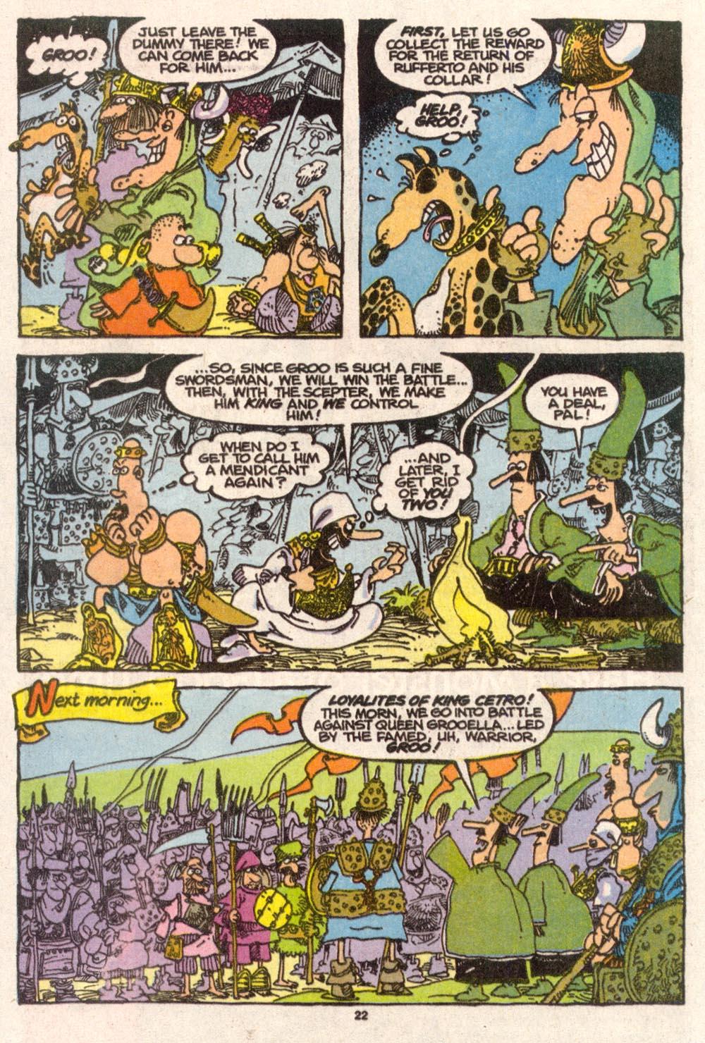 Read online Sergio Aragonés Groo the Wanderer comic -  Issue #74 - 17