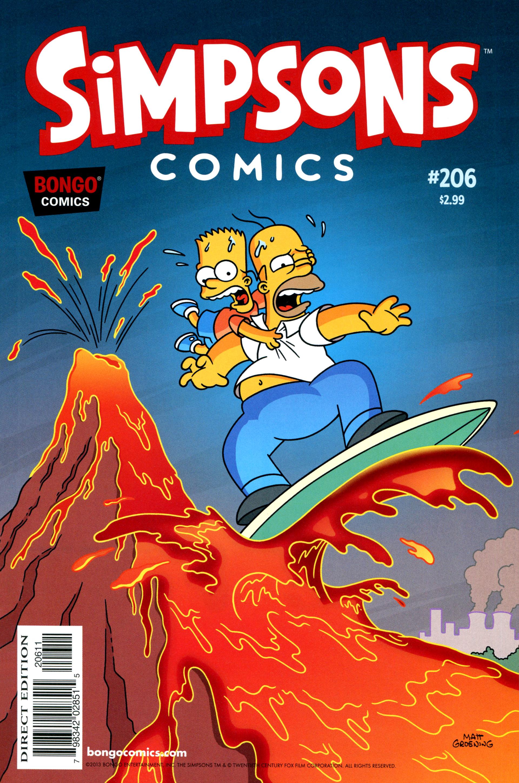 Read online Simpsons Comics comic -  Issue #206 - 1