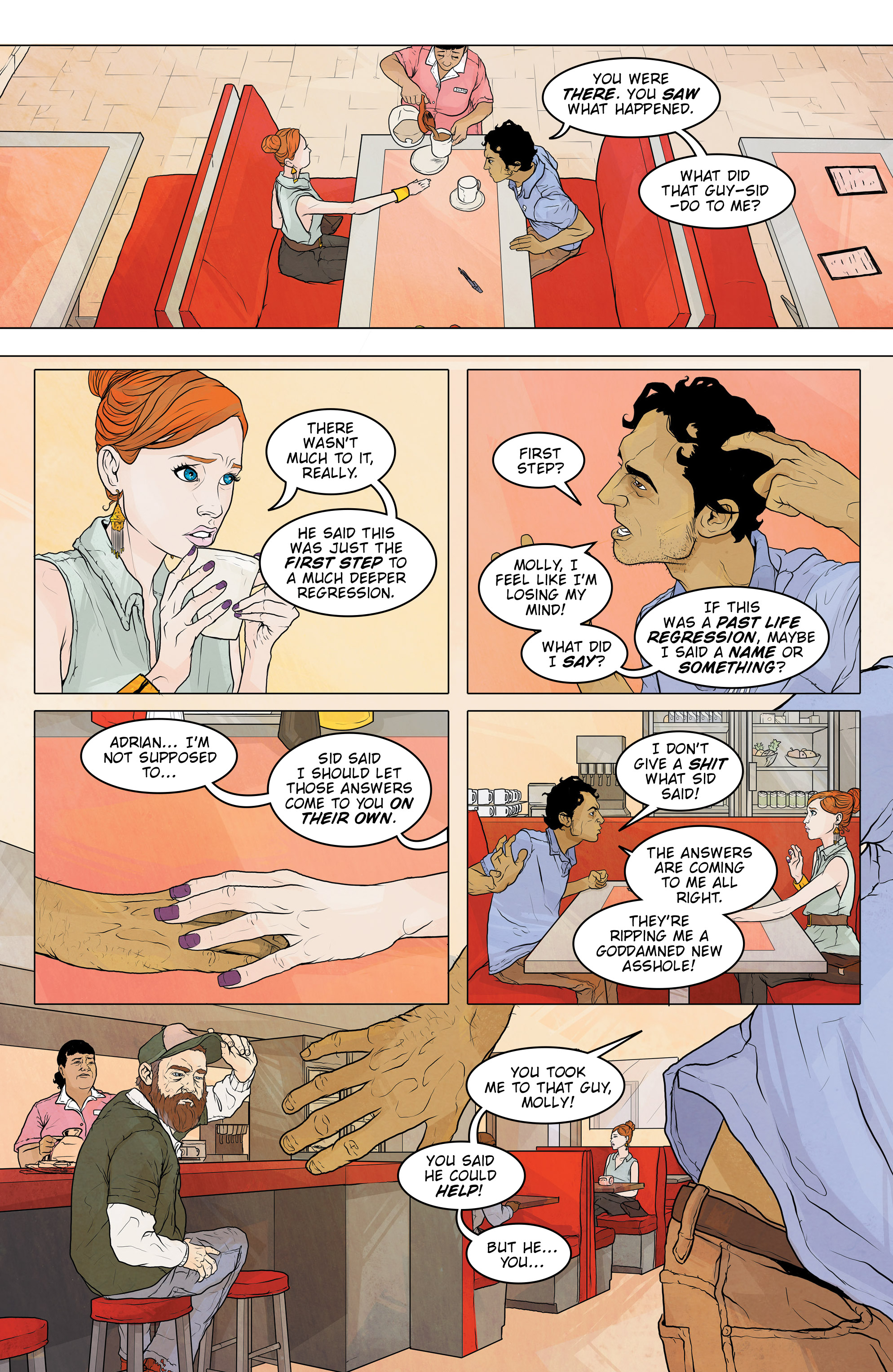 Read online Regression comic -  Issue #2 - 11