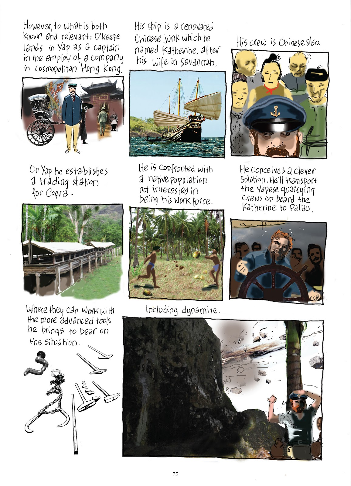 Read online The Lovely Horrible Stuff comic -  Issue # TPB - 77