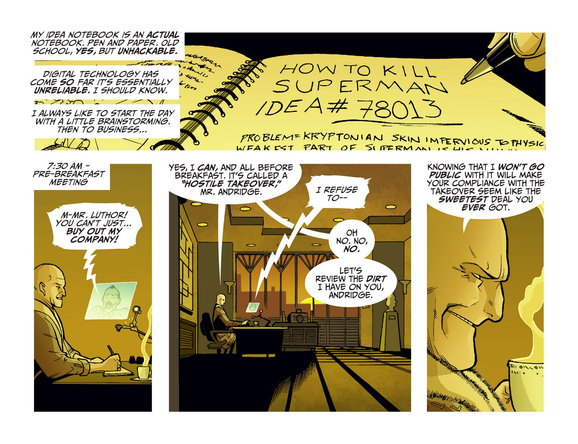 Read online Adventures of Superman [I] comic -  Issue #10 - 3