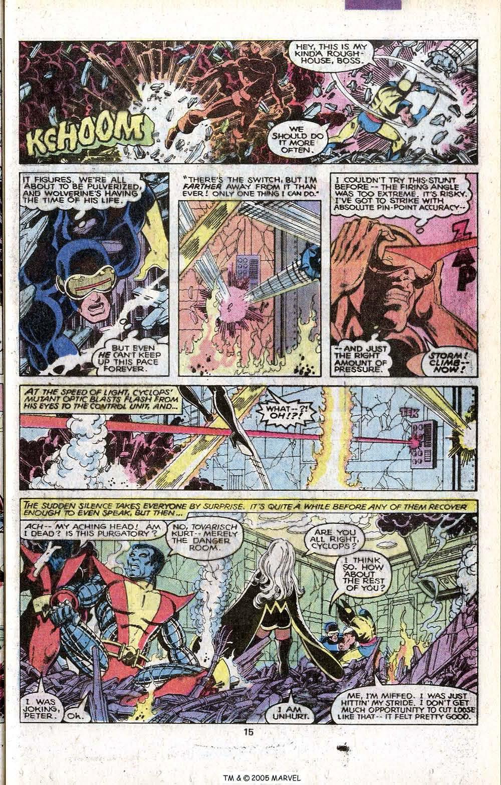 Read online Uncanny X-Men (1963) comic -  Issue # _Annual 3 - 17