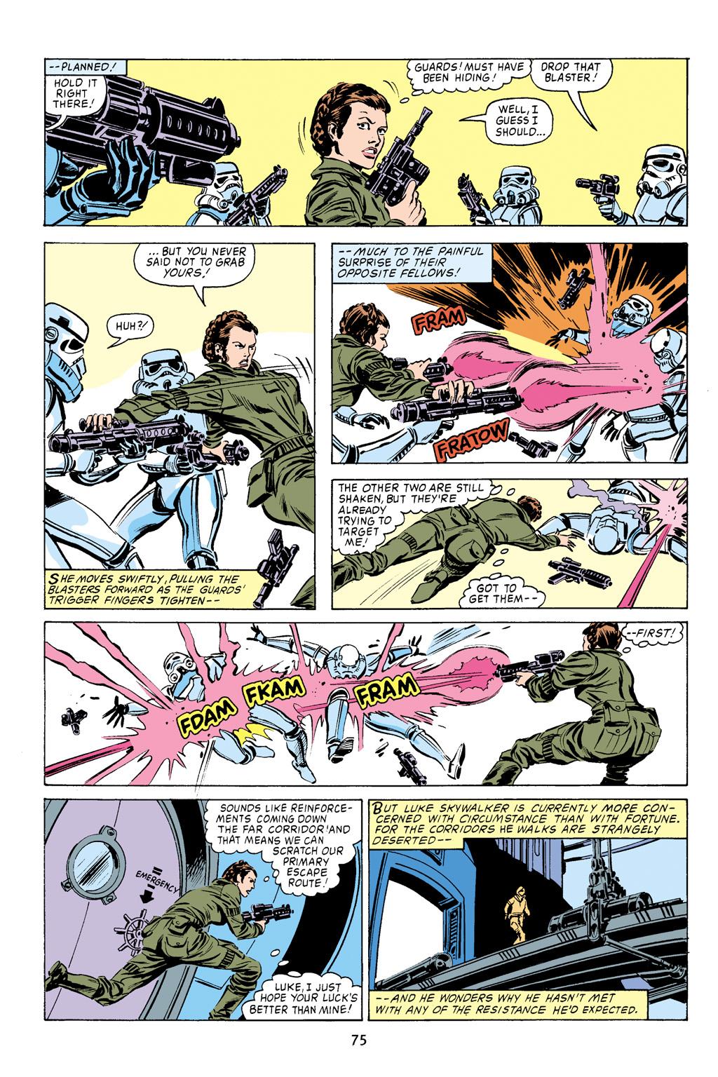 Read online Star Wars Omnibus comic -  Issue # Vol. 16 - 75