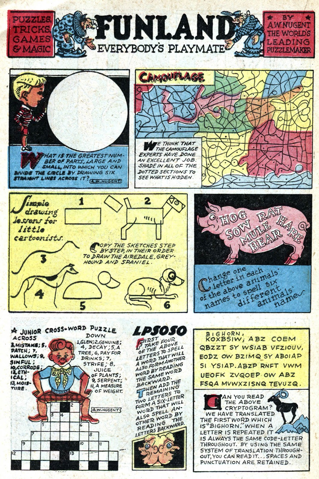 Read online Famous Funnies comic -  Issue #128 - 34