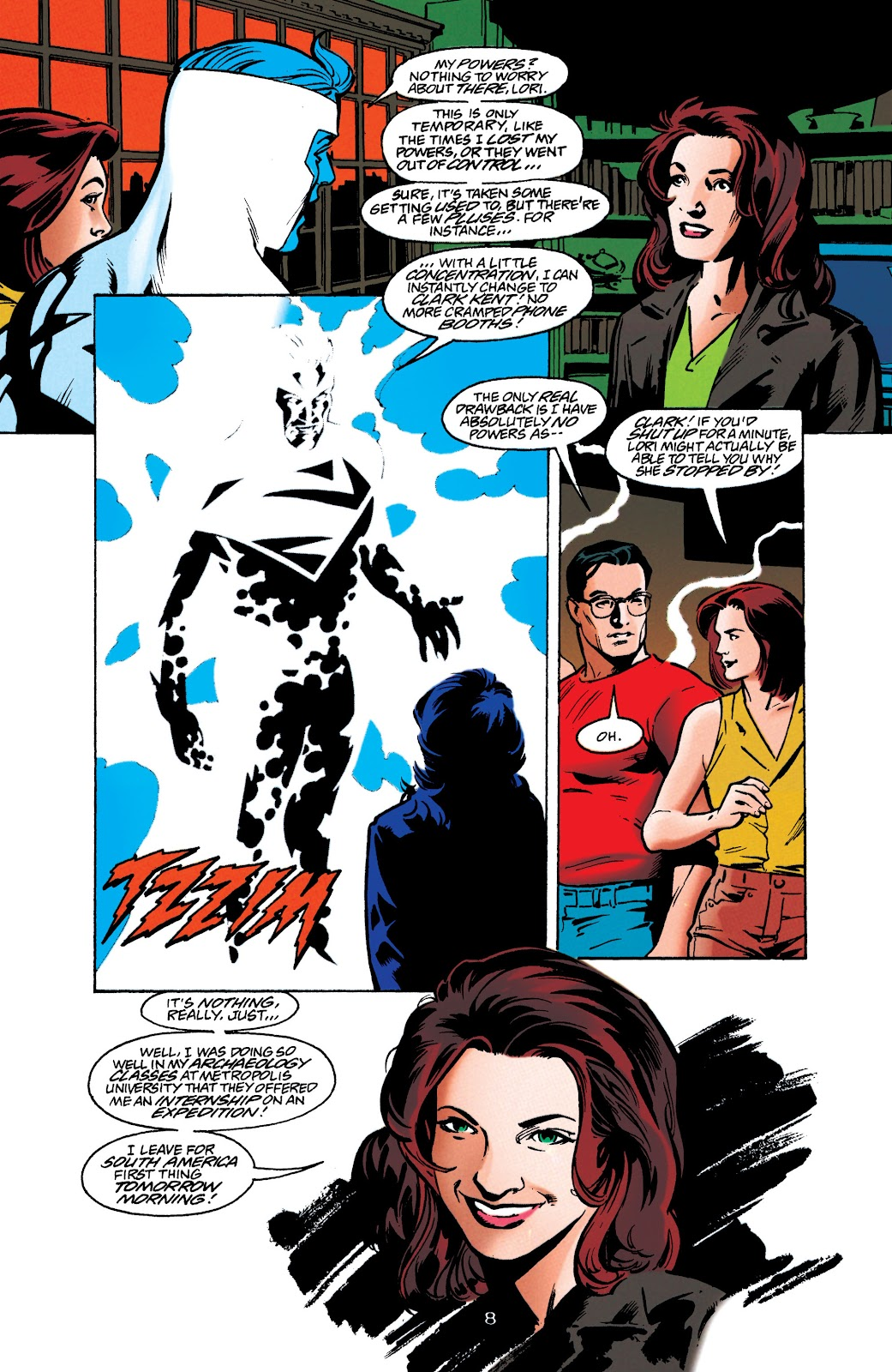 Adventures of Superman (1987) issue 549 - Page 8
