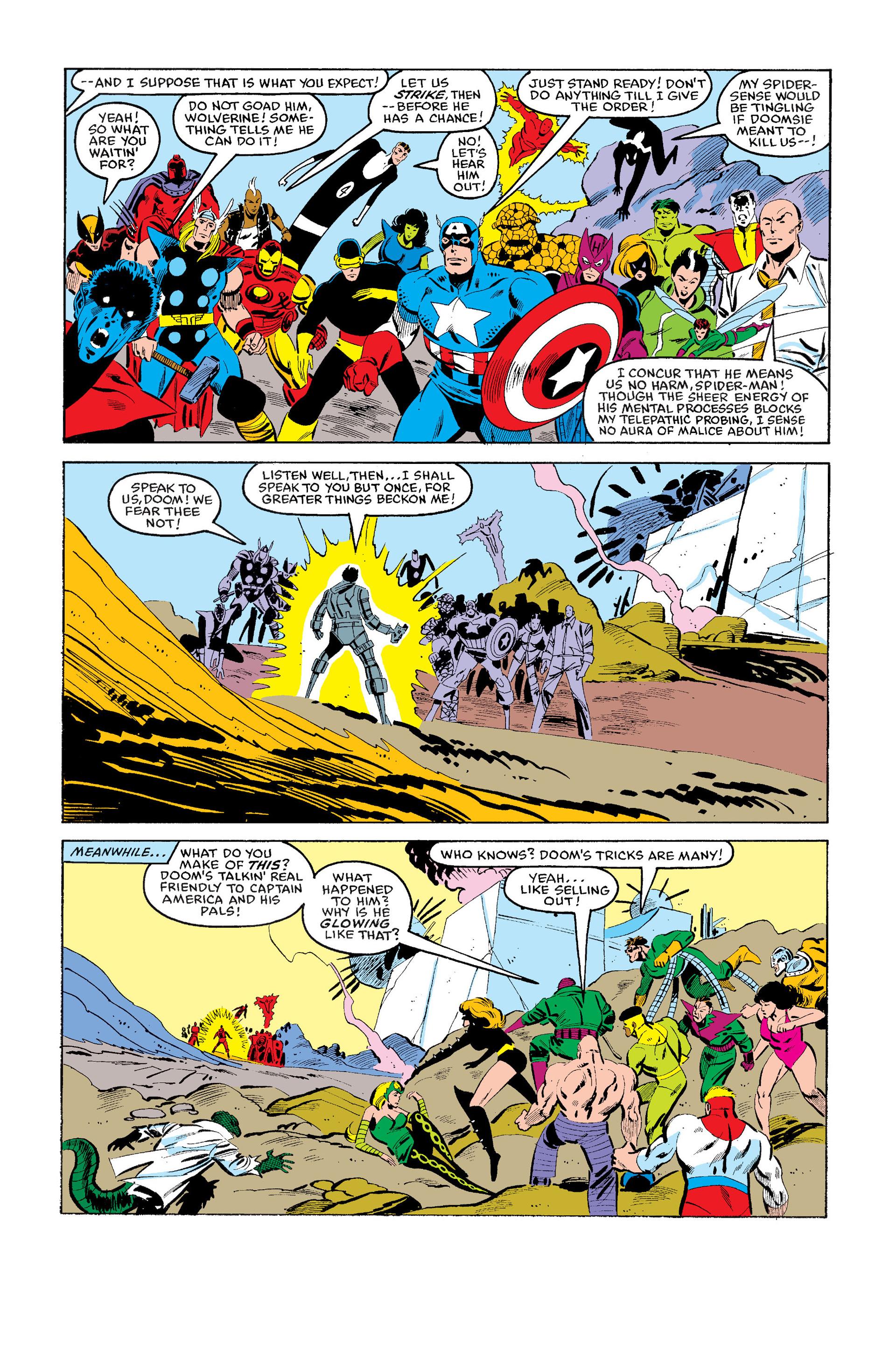 Read online Secret Wars (1985) comic -  Issue #11 - 3
