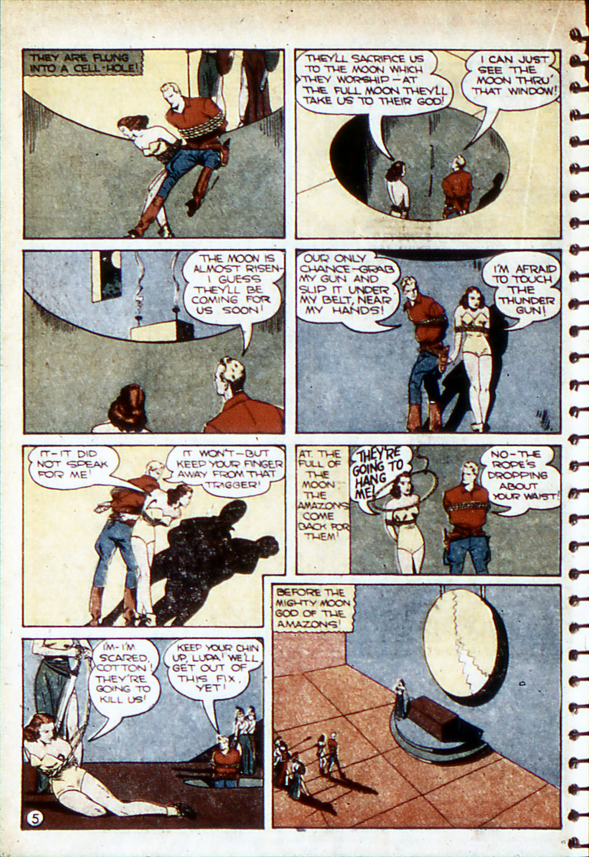 Read online Adventure Comics (1938) comic -  Issue #53 - 39