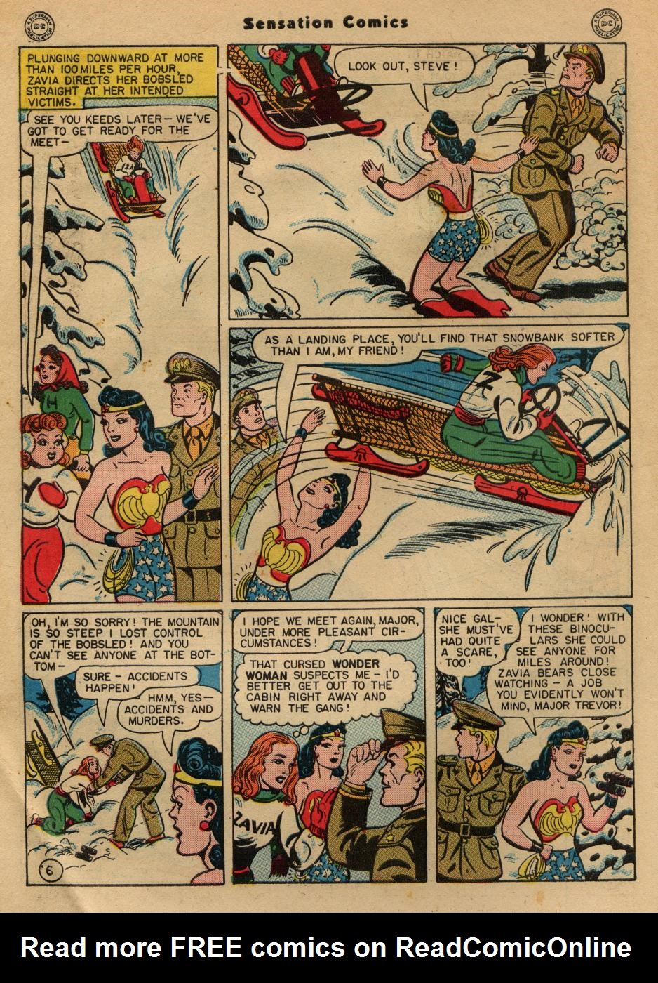 Read online Sensation (Mystery) Comics comic -  Issue #49 - 8